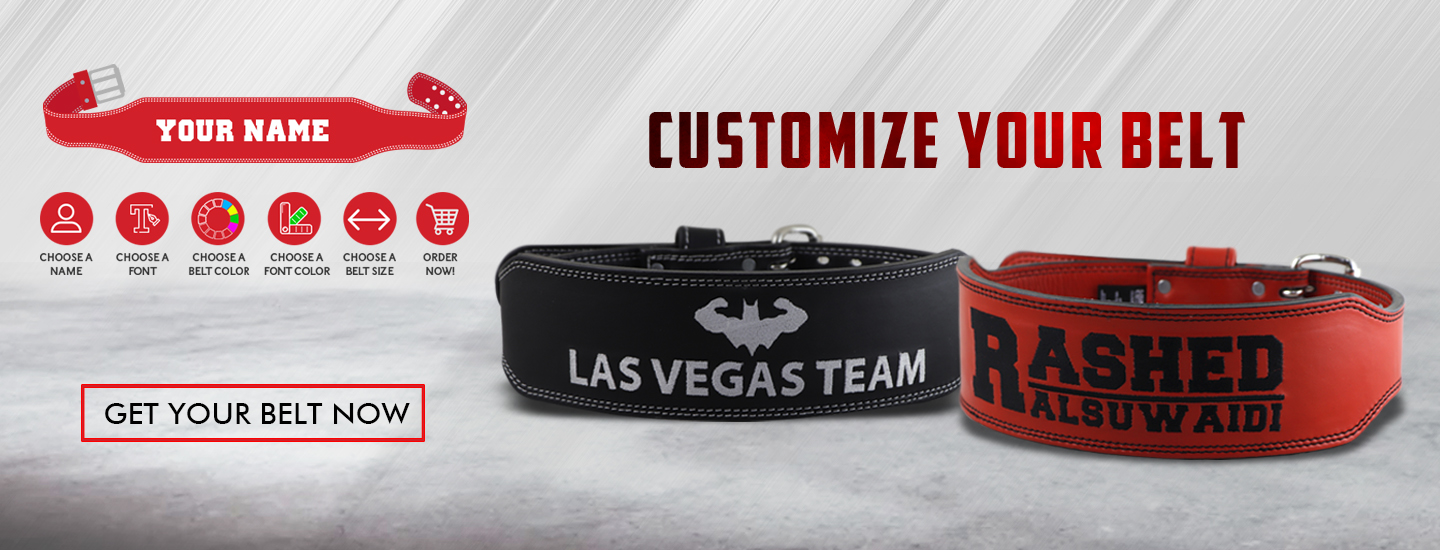Customize belt Banner