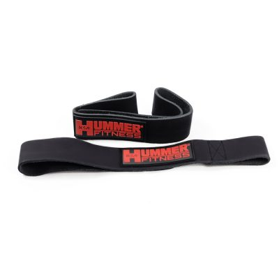 LEATHER LIFTING STRAP BLACK