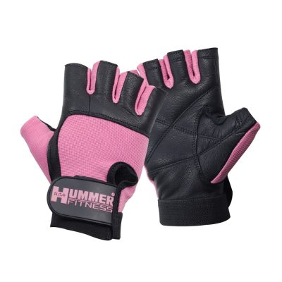 FITNESS GLOVES WITH WRIST PINK
