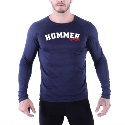 HMR USA FITNESS 100% POLYESTER TSHIRT – H17M003